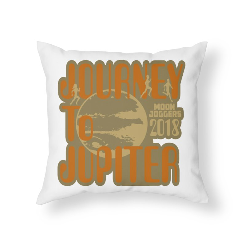 Journey To Jupiter 2018: Running and Walking Challenge Home Throw Pillow by moonjoggers's Artist Shop