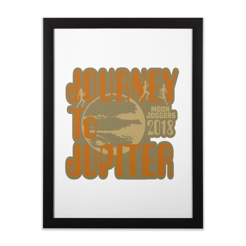 Journey To Jupiter 2018: Running and Walking Challenge Home Framed Fine Art Print by moonjoggers's Artist Shop