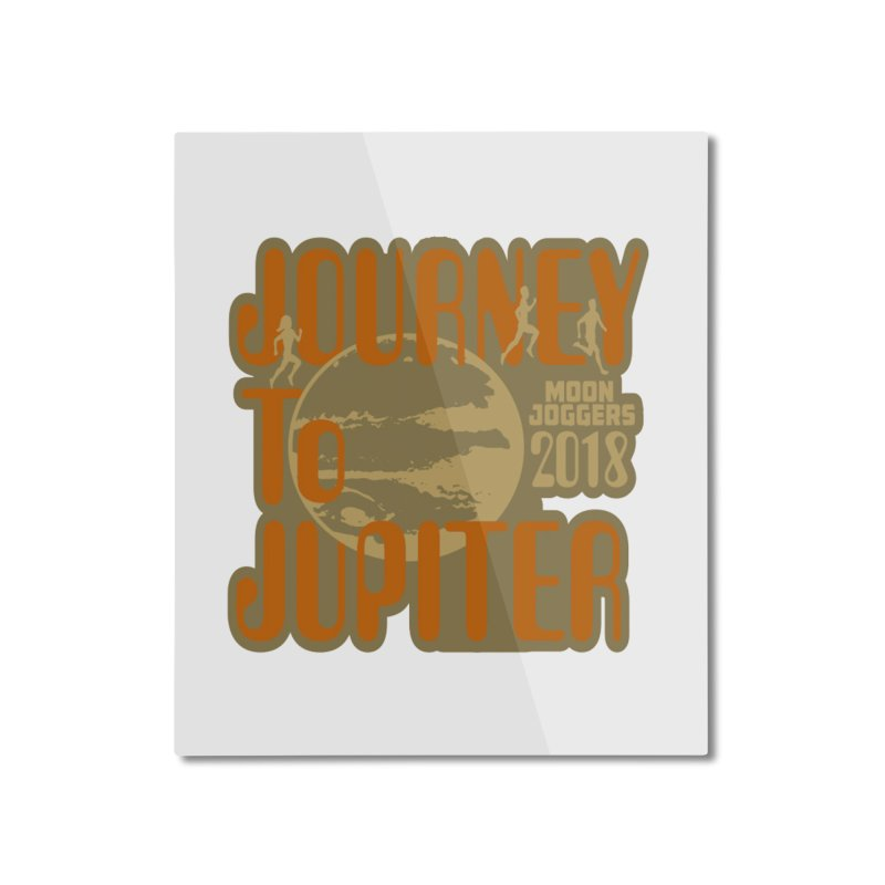 Journey To Jupiter 2018: Running and Walking Challenge Home Mounted Aluminum Print by moonjoggers's Artist Shop