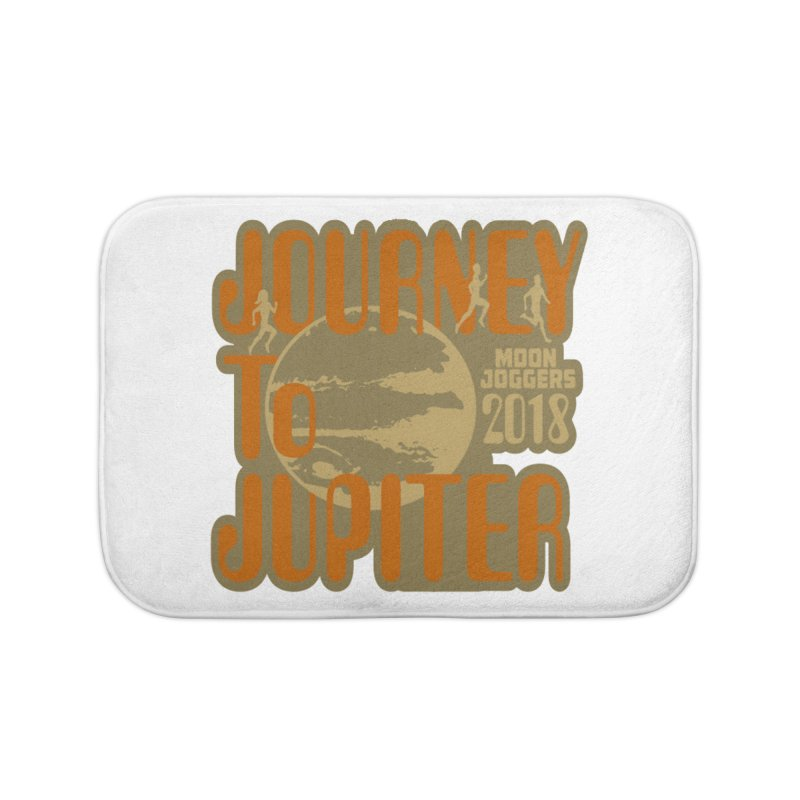 Journey To Jupiter 2018: Running and Walking Challenge Home Bath Mat by moonjoggers's Artist Shop
