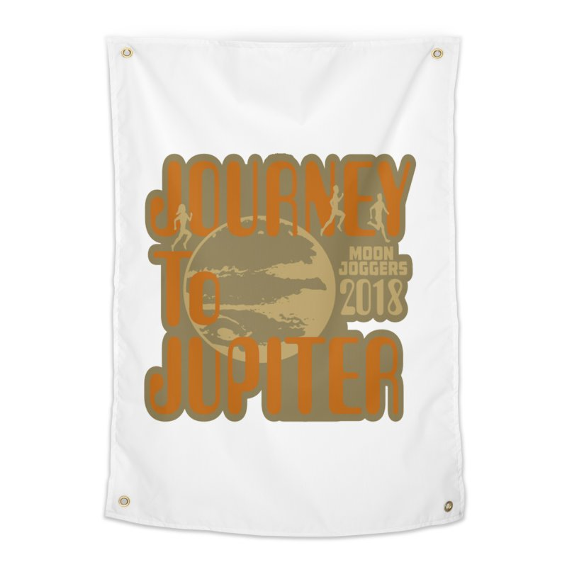 Journey To Jupiter 2018: Running and Walking Challenge Home Tapestry by moonjoggers's Artist Shop