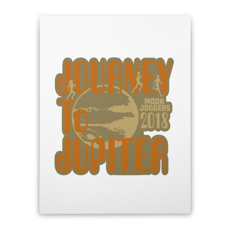 Journey To Jupiter 2018: Running and Walking Challenge Home Stretched Canvas by moonjoggers's Artist Shop