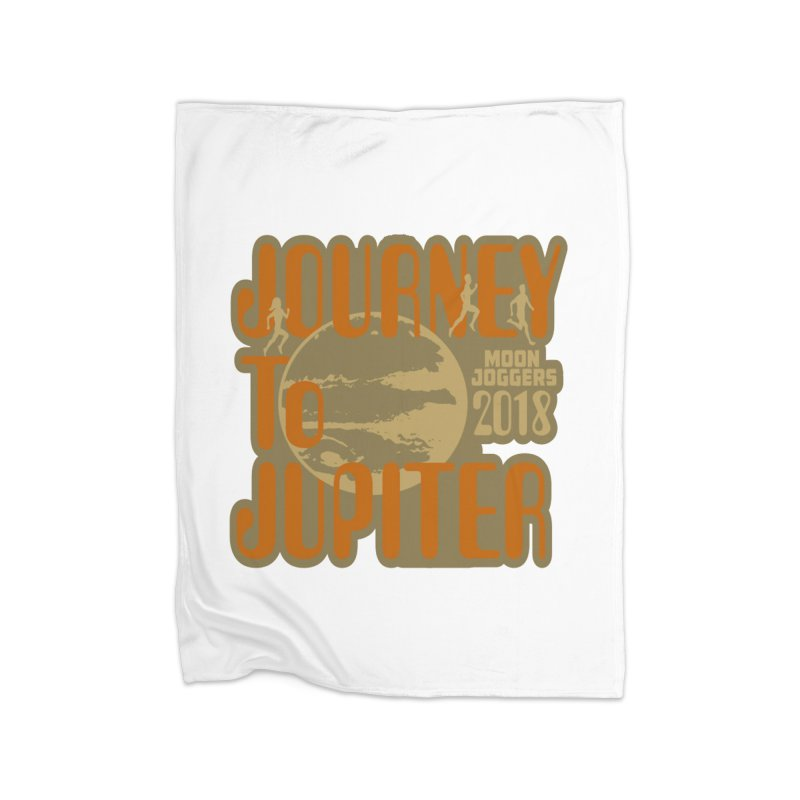 Journey To Jupiter 2018: Running and Walking Challenge Home Blanket by moonjoggers's Artist Shop