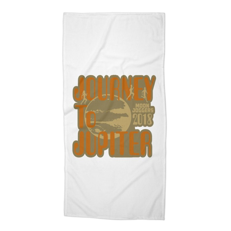 Journey To Jupiter 2018: Running and Walking Challenge Accessories Beach Towel by moonjoggers's Artist Shop