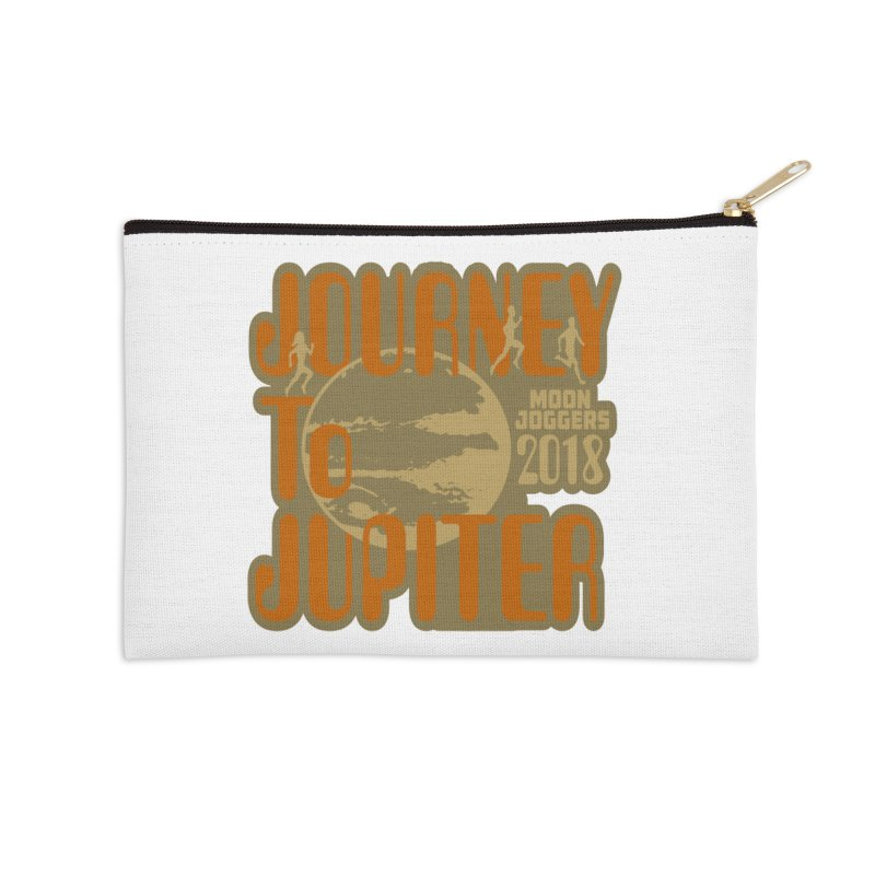 Journey To Jupiter 2018: Running and Walking Challenge Accessories Zip Pouch by moonjoggers's Artist Shop