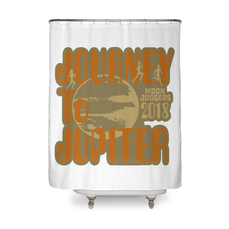 Journey To Jupiter 2018: Running and Walking Challenge Home Shower Curtain by moonjoggers's Artist Shop