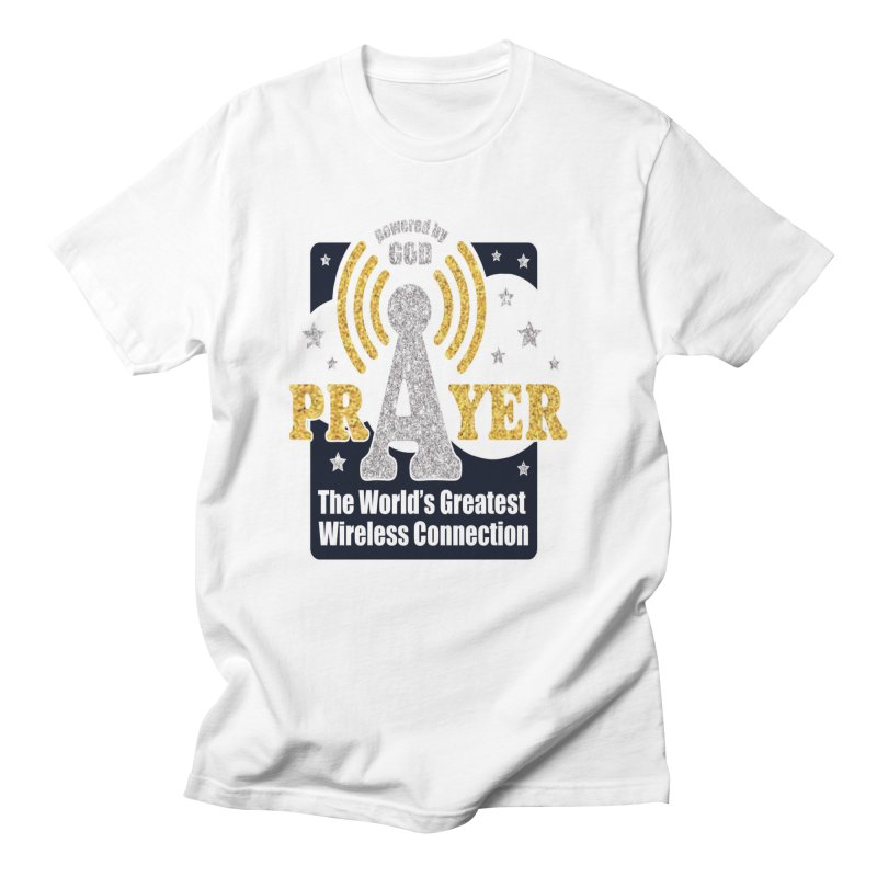 PRAYER: The World's Greatest Wireless Connection 1 Mile by Moon Joggers's Artist Shop