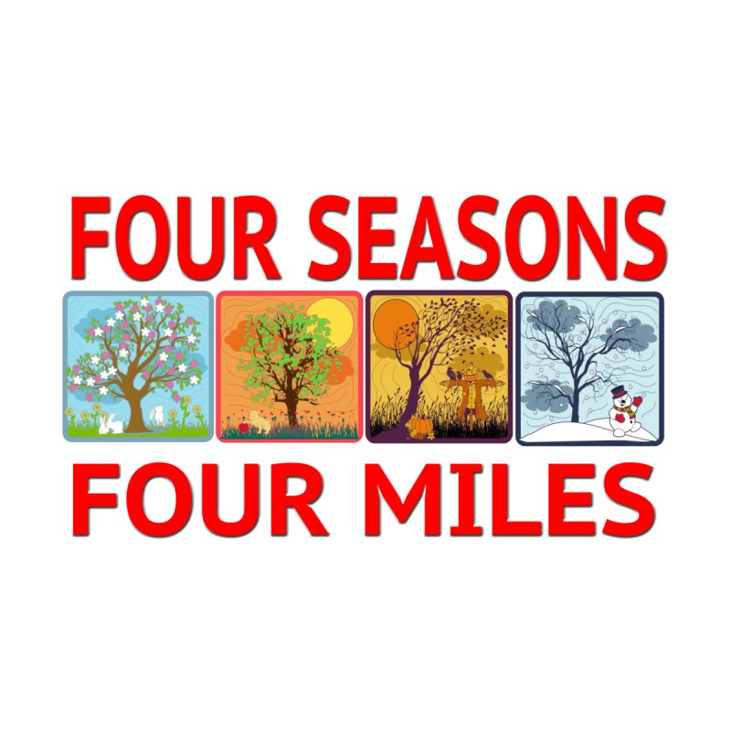 Four Seasons, Four Miles 2019 by moonjoggers's Artist Shop
