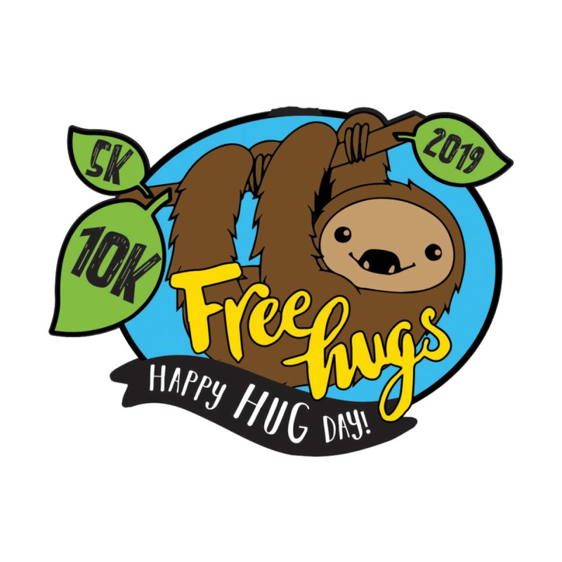 Happy Hug Day 5K & 10K Women's T-Shirt by moonjoggers's Artist Shop