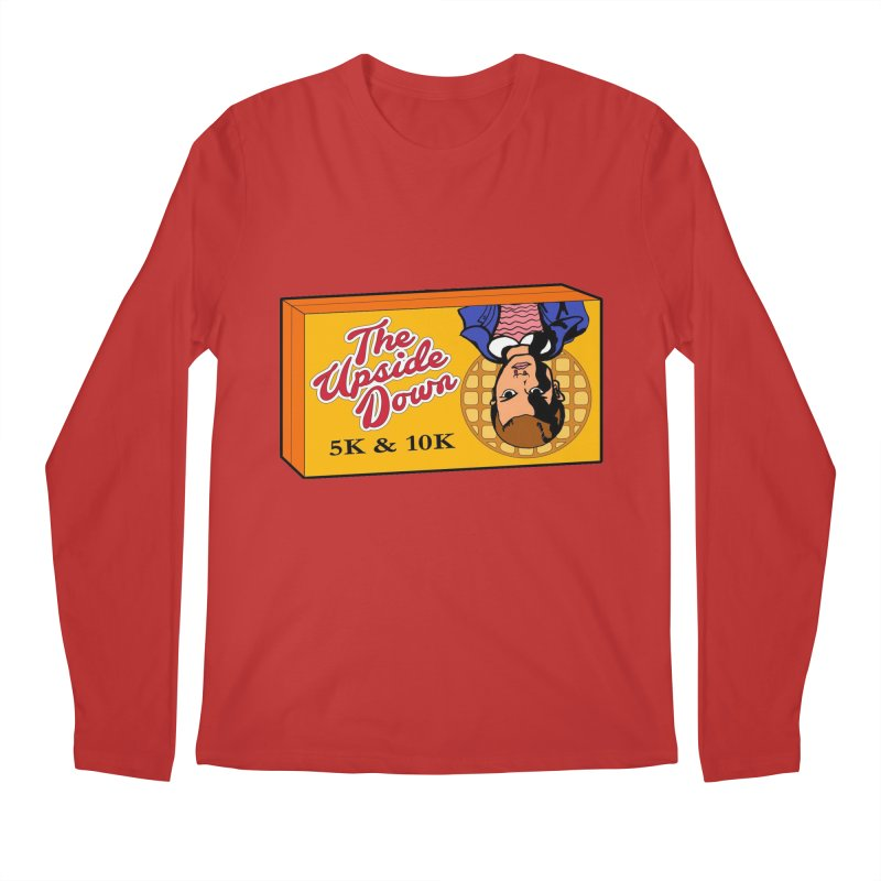 The Upside Down 5K & 10K Men's Regular Longsleeve T-Shirt by moonjoggers's Artist Shop