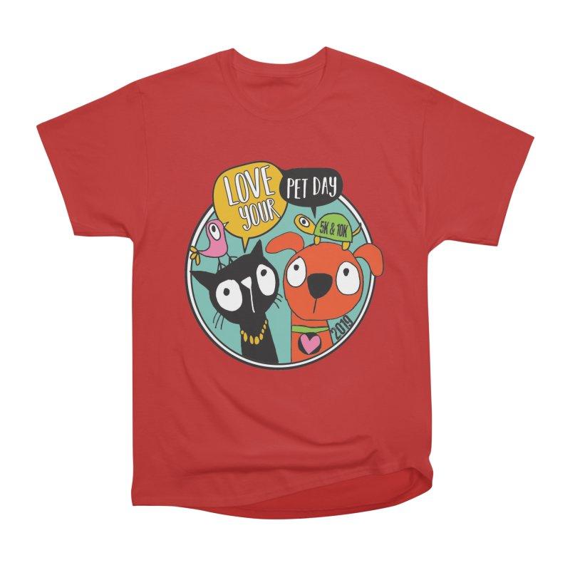 Love Your Pet 5K & 10K Women's Heavyweight Unisex T-Shirt by moonjoggers's Artist Shop