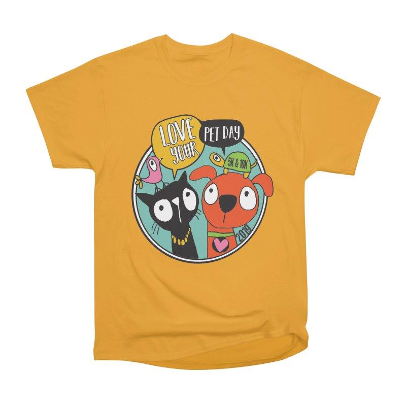 Love Your Pet 5K & 10K Men's Heavyweight T-Shirt by moonjoggers's Artist Shop