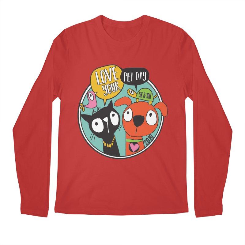 Love Your Pet 5K & 10K Men's Regular Longsleeve T-Shirt by moonjoggers's Artist Shop