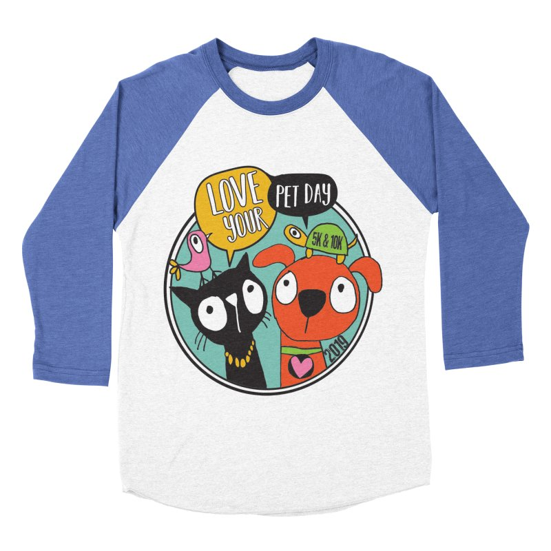 Love Your Pet 5K & 10K Women's Baseball Triblend Longsleeve T-Shirt by moonjoggers's Artist Shop
