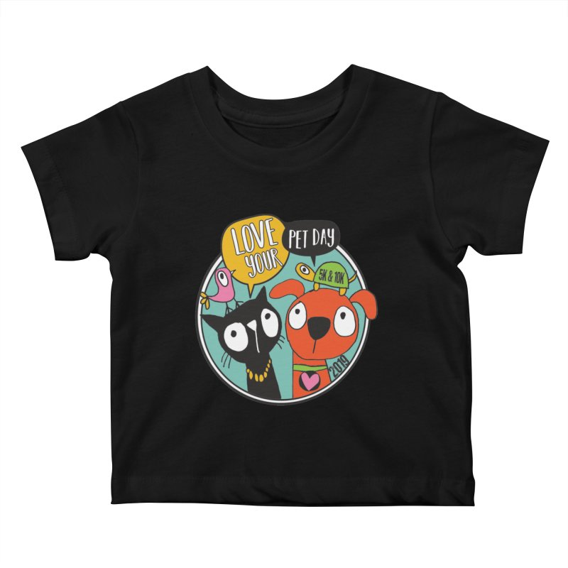 Love Your Pet 5K & 10K Kids Baby T-Shirt by moonjoggers's Artist Shop