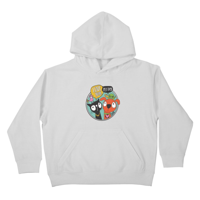 Love Your Pet 5K & 10K Kids Pullover Hoody by moonjoggers's Artist Shop