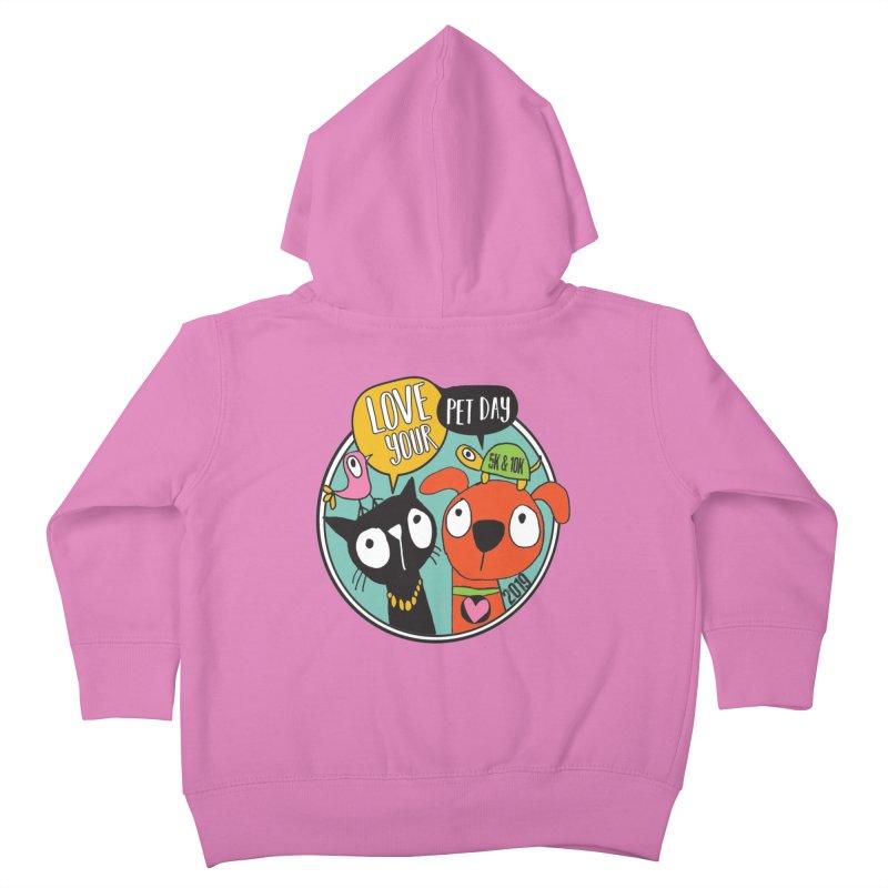 Love Your Pet 5K & 10K Kids Toddler Zip-Up Hoody by moonjoggers's Artist Shop