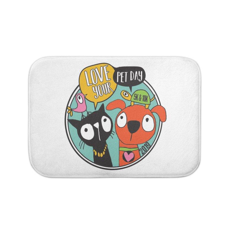 Love Your Pet 5K & 10K Home Bath Mat by moonjoggers's Artist Shop