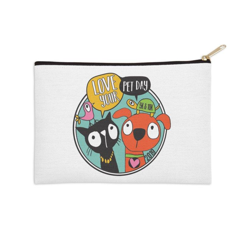 Love Your Pet 5K & 10K Accessories Zip Pouch by moonjoggers's Artist Shop