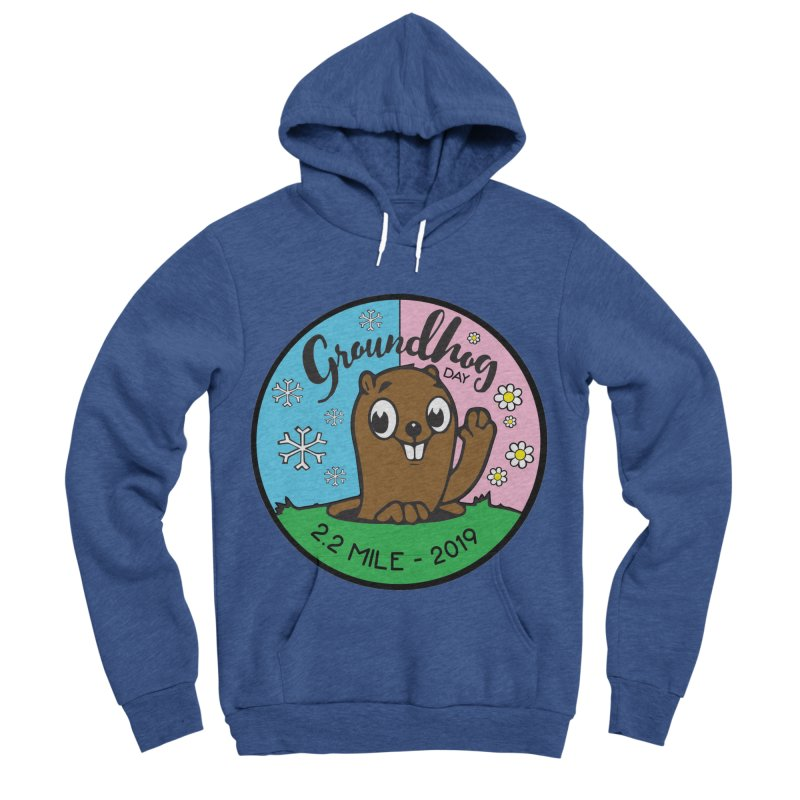 Groundhog Day 2.2 Mile Women's Sponge Fleece Pullover Hoody by moonjoggers's Artist Shop