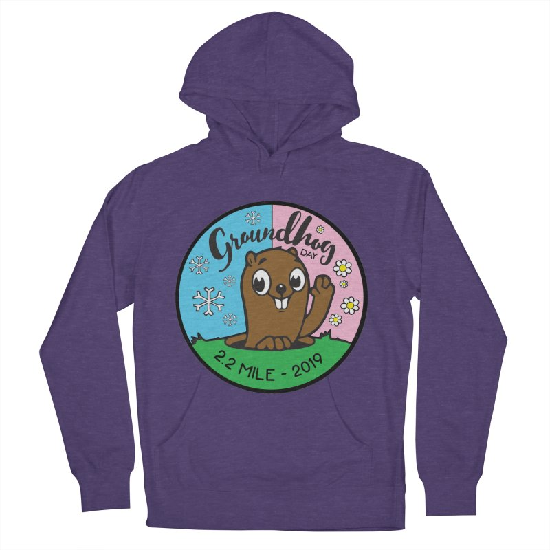 Groundhog Day 2.2 Mile Men's French Terry Pullover Hoody by moonjoggers's Artist Shop