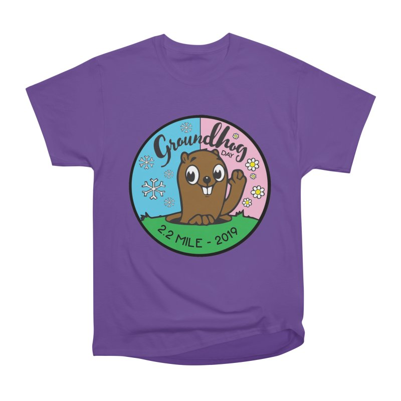 Groundhog Day 2.2 Mile Men's Heavyweight T-Shirt by moonjoggers's Artist Shop