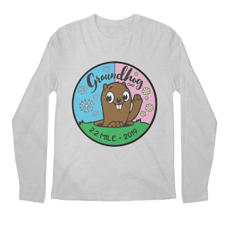 Groundhog Day 2.2 Mile Men's Regular Longsleeve T-Shirt by moonjoggers's Artist Shop