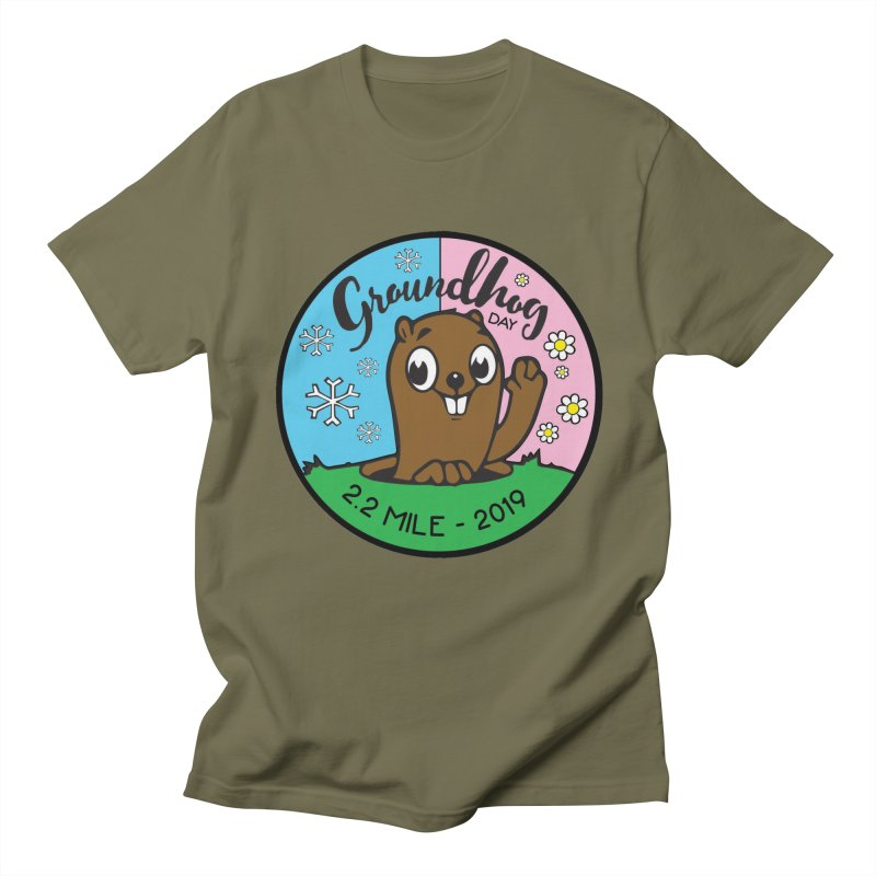 Groundhog Day 2.2 Mile Women's Regular Unisex T-Shirt by moonjoggers's Artist Shop