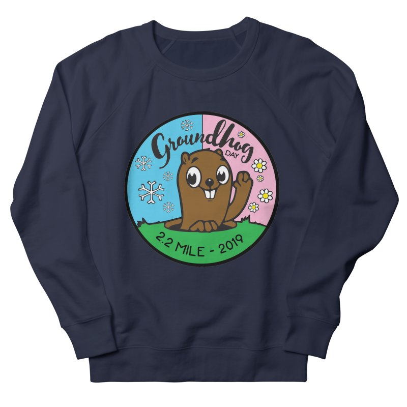 Groundhog Day 2.2 Mile Women's French Terry Sweatshirt by moonjoggers's Artist Shop