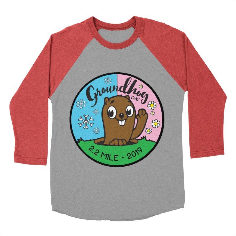 Groundhog Day 2.2 Mile Women's Baseball Triblend Longsleeve T-Shirt by moonjoggers's Artist Shop