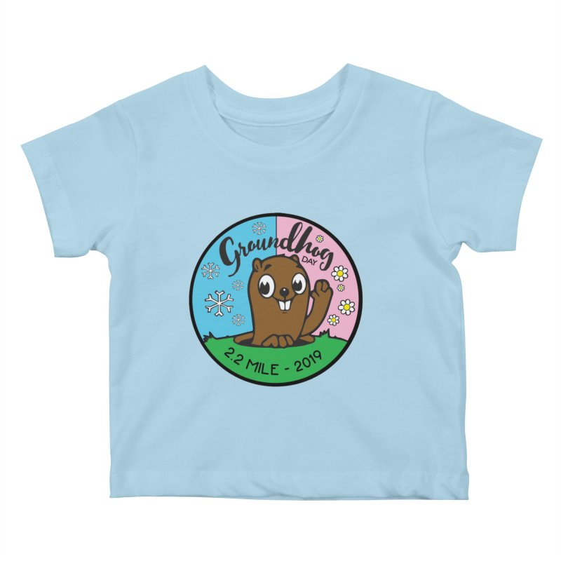 Groundhog Day 2.2 Mile Kids Baby T-Shirt by moonjoggers's Artist Shop