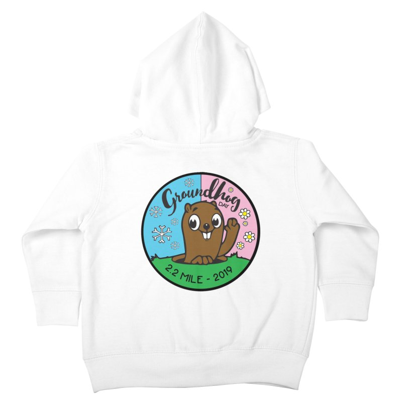 Groundhog Day 2.2 Mile Kids Toddler Zip-Up Hoody by moonjoggers's Artist Shop