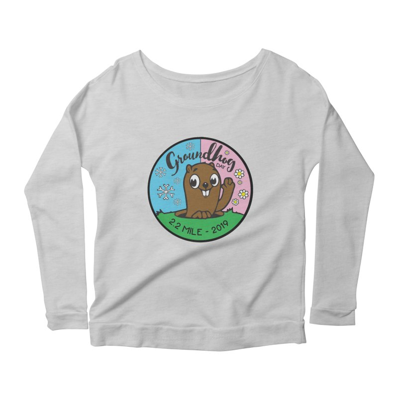 Groundhog Day 2.2 Mile Women's Scoop Neck Longsleeve T-Shirt by moonjoggers's Artist Shop