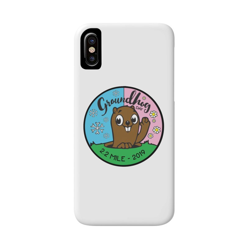 Groundhog Day 2.2 Mile Accessories Phone Case by moonjoggers's Artist Shop