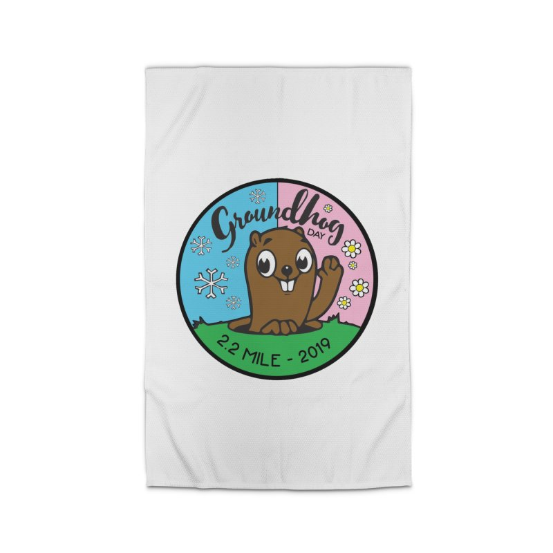 Groundhog Day 2.2 Mile Home Rug by moonjoggers's Artist Shop