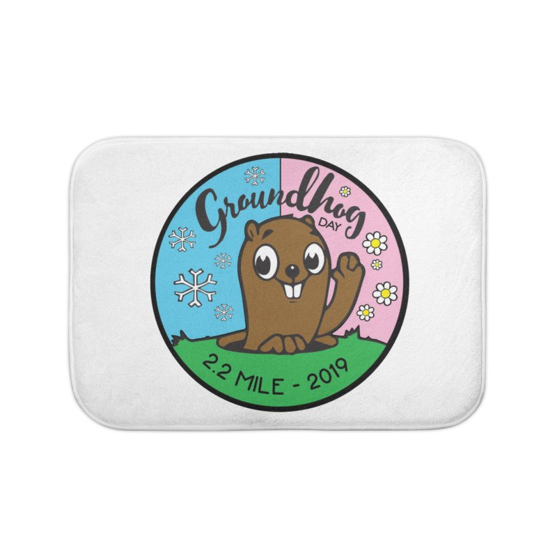 Groundhog Day 2.2 Mile Home Bath Mat by moonjoggers's Artist Shop