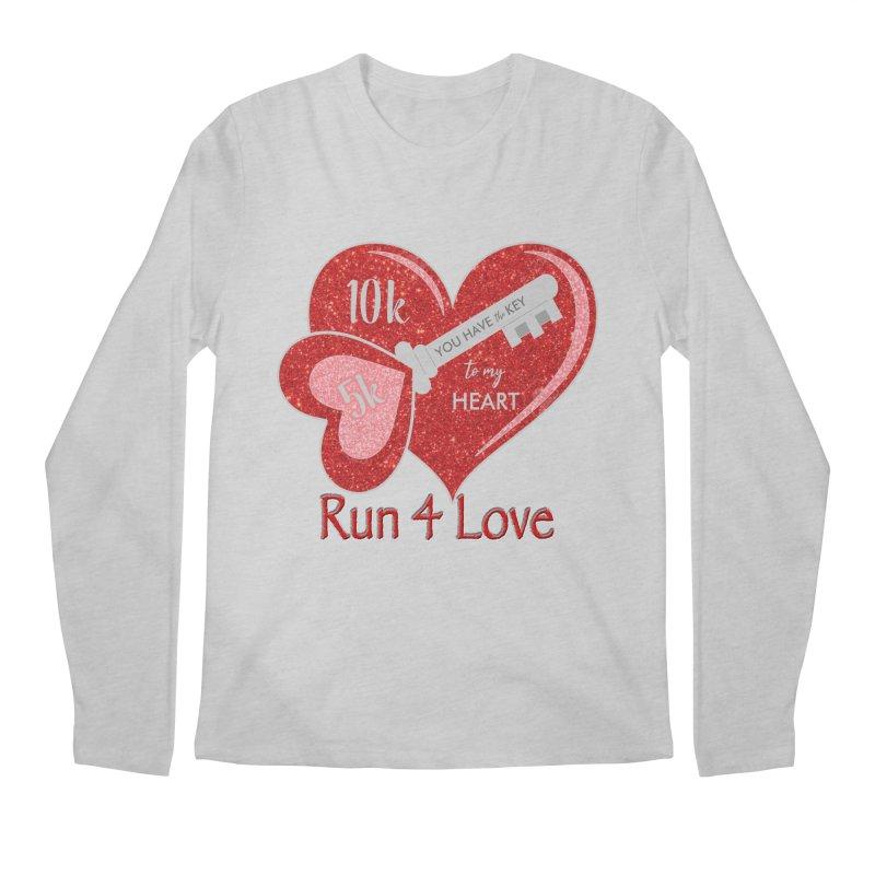 Run 4 Love 5K & 10K Men's Regular Longsleeve T-Shirt by moonjoggers's Artist Shop