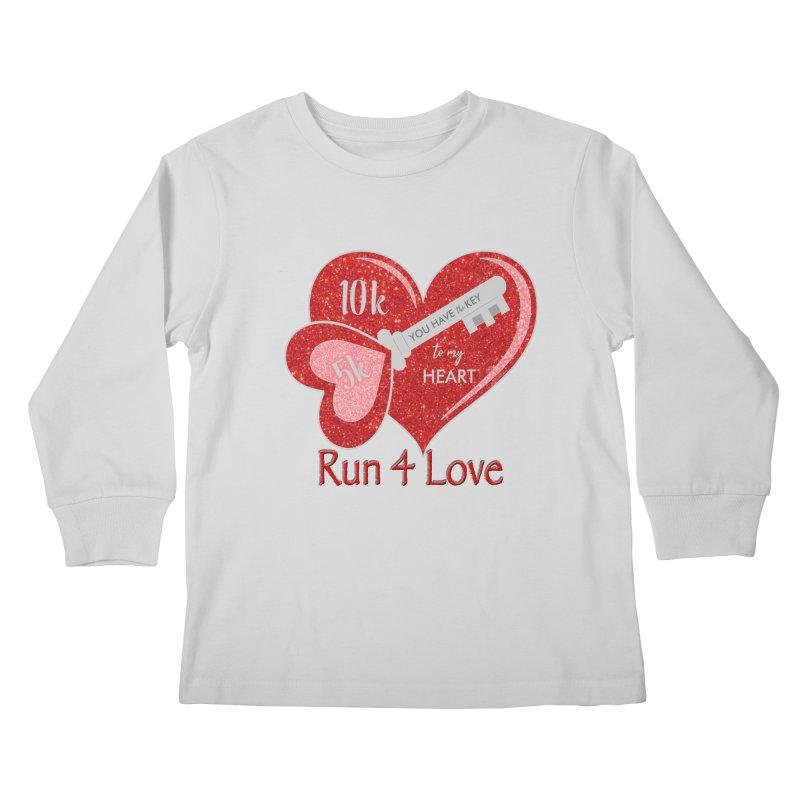Run 4 Love 5K & 10K Kids Longsleeve T-Shirt by moonjoggers's Artist Shop