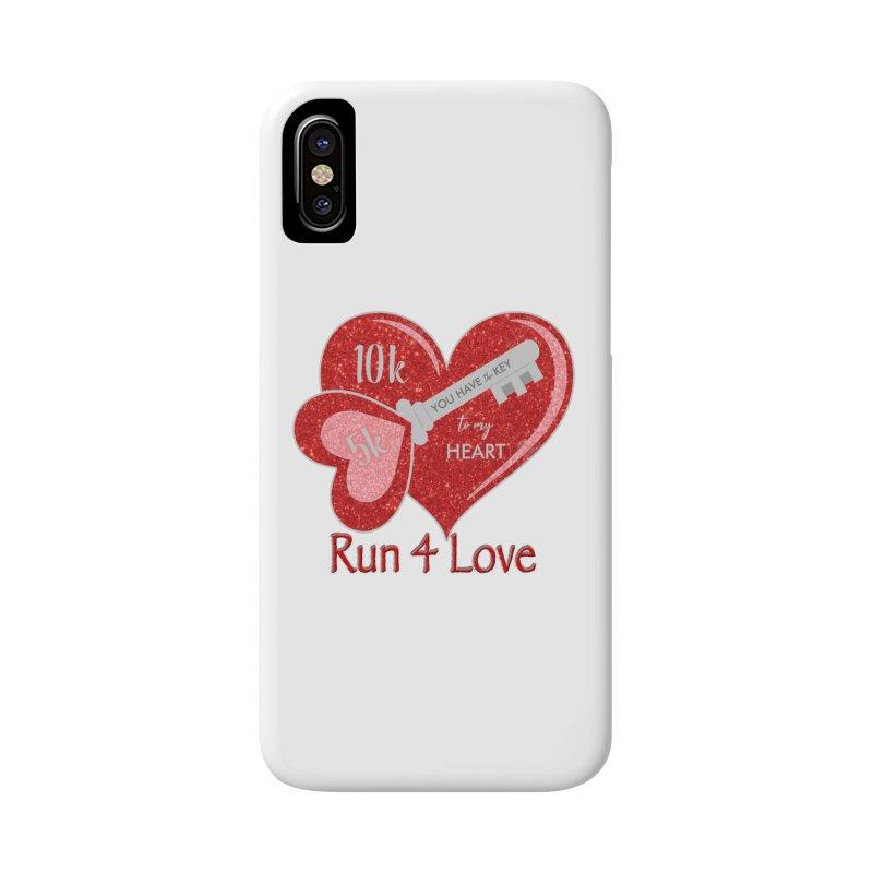 Run 4 Love 5K & 10K Accessories Phone Case by moonjoggers's Artist Shop