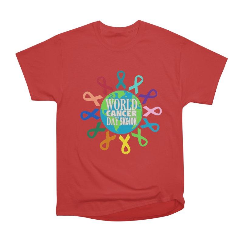 World Cancer Day 5K & 10K Men's Heavyweight T-Shirt by moonjoggers's Artist Shop