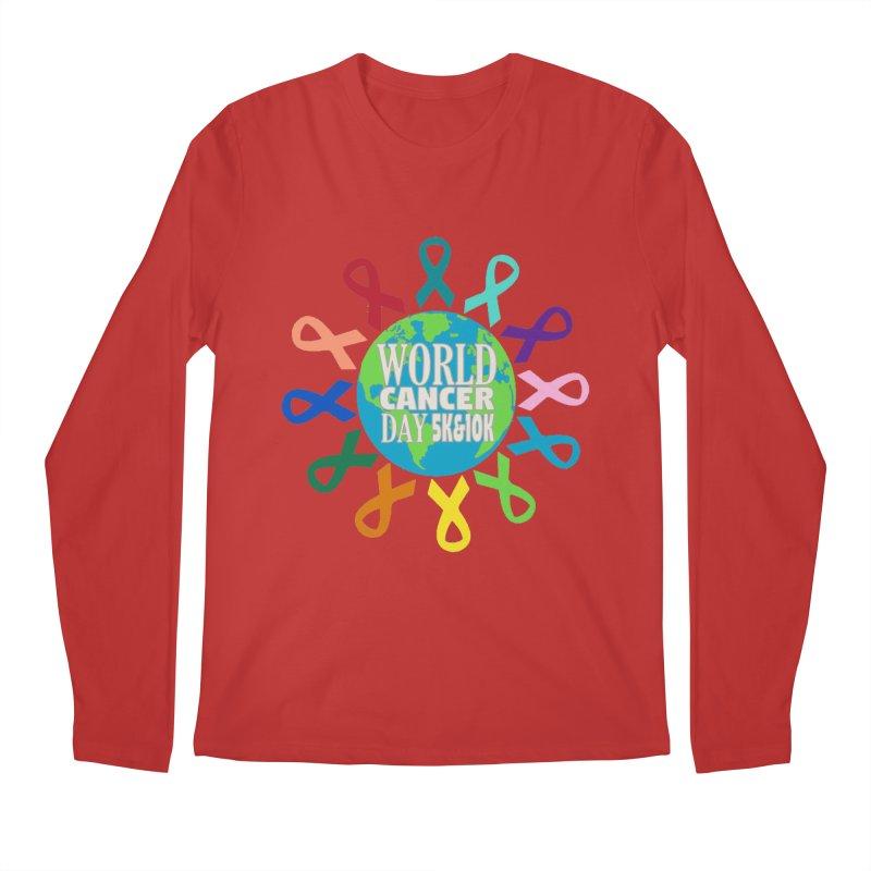 World Cancer Day 5K & 10K Men's Regular Longsleeve T-Shirt by moonjoggers's Artist Shop