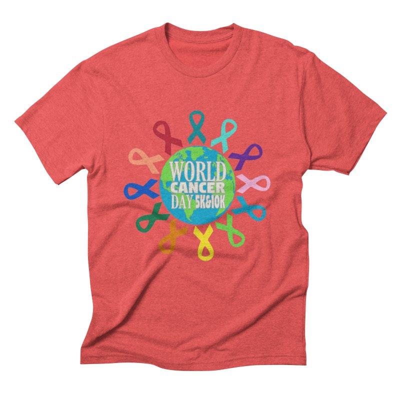 World Cancer Day 5K & 10K Men's Triblend T-Shirt by moonjoggers's Artist Shop