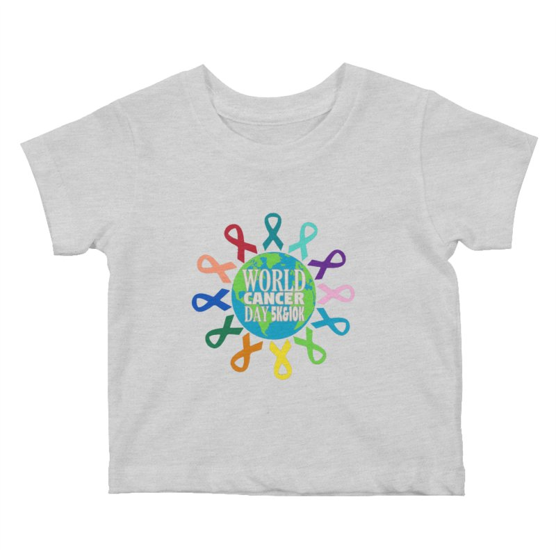 World Cancer Day 5K & 10K Kids Baby T-Shirt by moonjoggers's Artist Shop