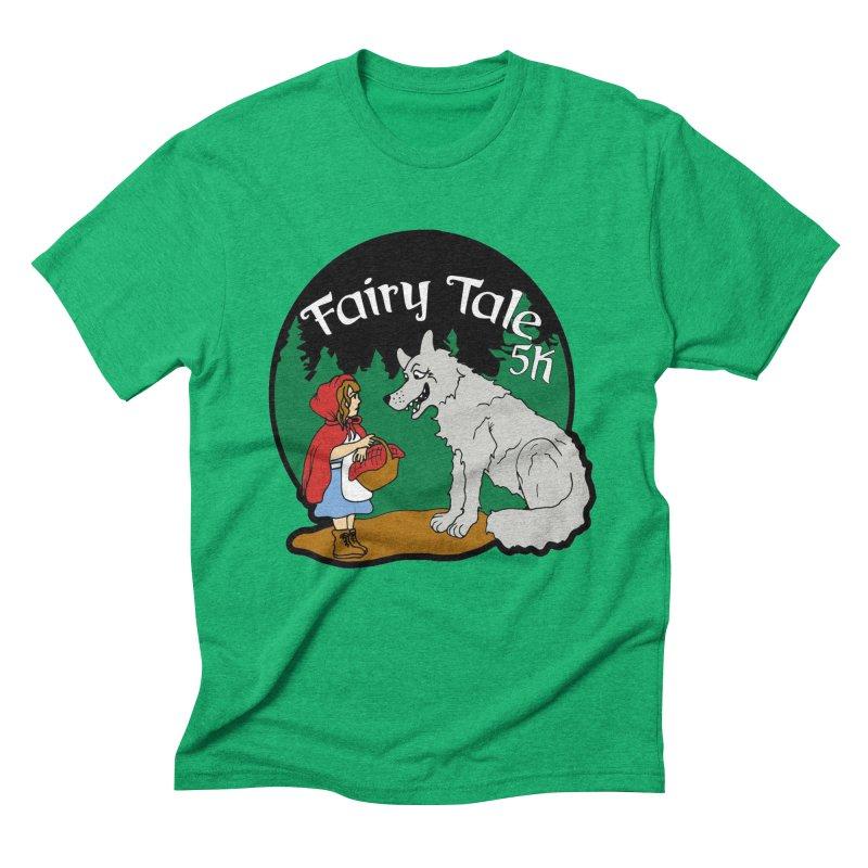 Fairy Tale 5K Men's Triblend T-Shirt by moonjoggers's Artist Shop