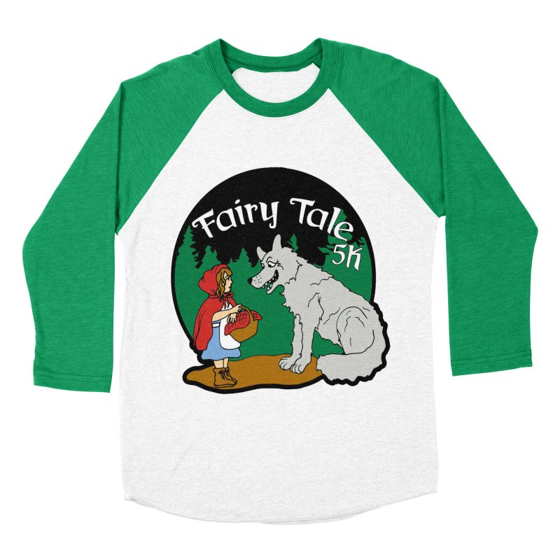 Fairy Tale 5K Women's Baseball Triblend Longsleeve T-Shirt by moonjoggers's Artist Shop