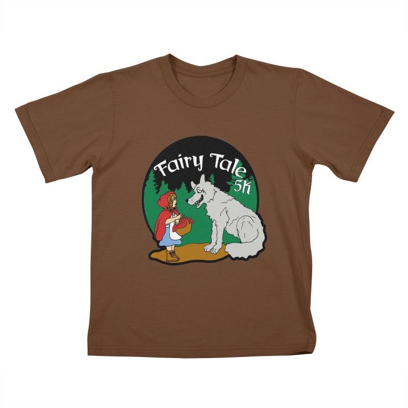 Fairy Tale 5K Kids T-Shirt by moonjoggers's Artist Shop