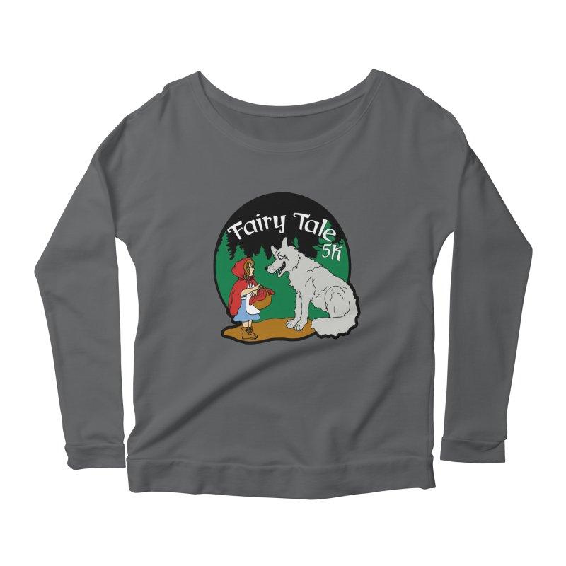 Fairy Tale 5K Women's Scoop Neck Longsleeve T-Shirt by moonjoggers's Artist Shop