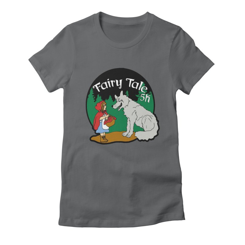 Fairy Tale 5K Women's Fitted T-Shirt by moonjoggers's Artist Shop