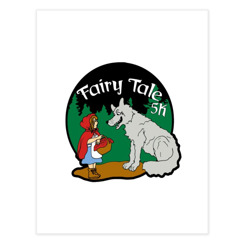 Fairy Tale 5K Home Fine Art Print by moonjoggers's Artist Shop
