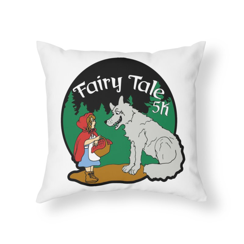 Fairy Tale 5K Home Throw Pillow by moonjoggers's Artist Shop